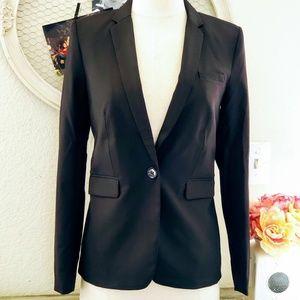 H&M Long One Button Blazer